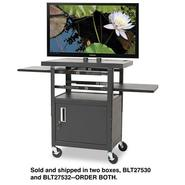 Balt Two Shelf Height-Adjustable Flat Panel TV Cart at Kmart.com