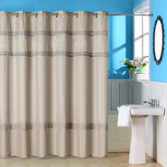 Lavish Home Radcliff Embroidered Shower Curtain w/ Grommets at Kmart.com