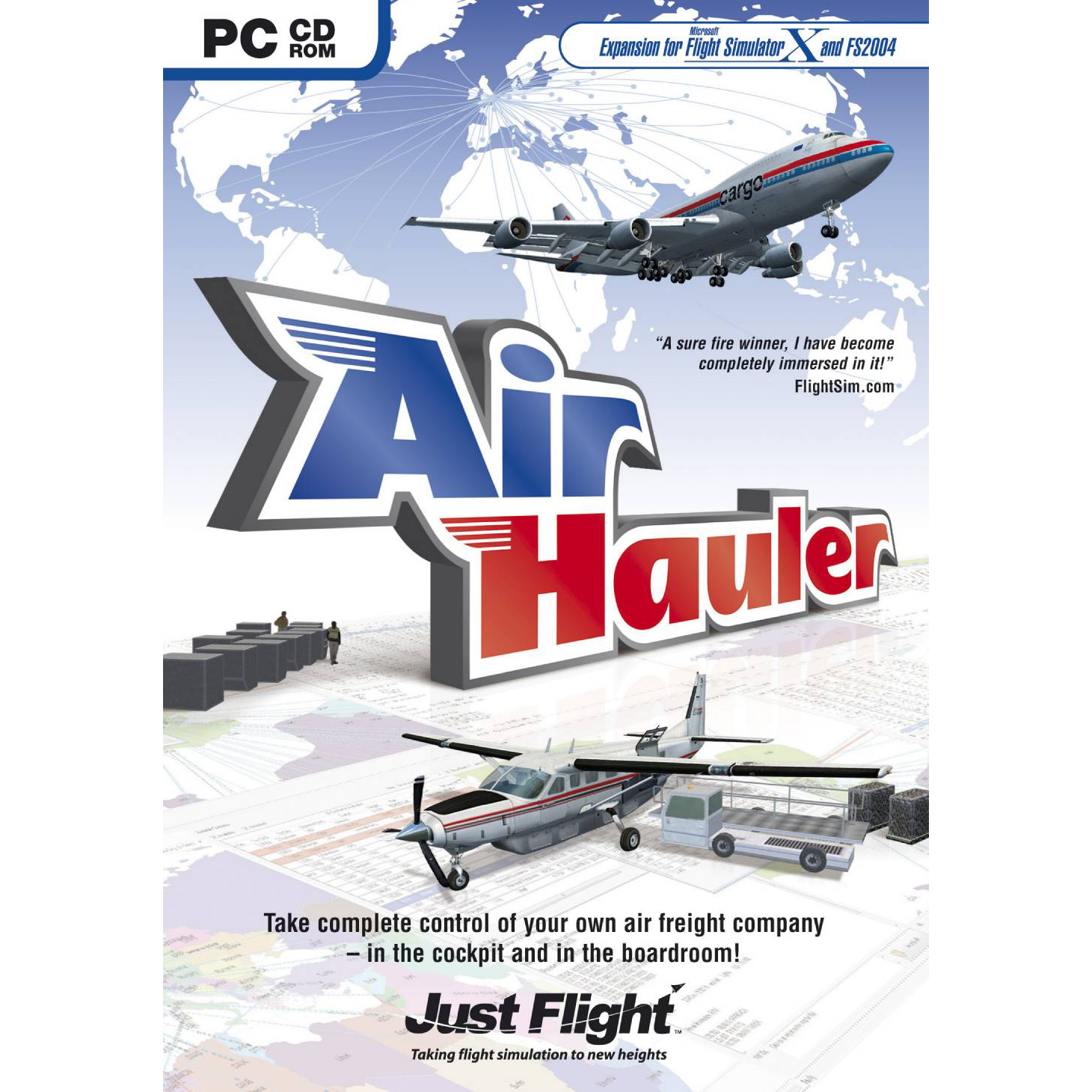 AIR HAULER 001AIRH -FLIGHT SIMULATOR