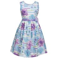 Ashley Ann Girl's Party Dress - Floral Striped at Sears.com