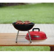 BBQ Pro 14in Tabletop Charcoal Grill - Red at Sears.com