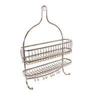 InterDesign USA York Lyra Jumbo Shower Caddy Satin at Kmart.com