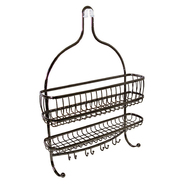 InterDesign USA York Lyra Jumbo Shower Caddy Bronze at Kmart.com
