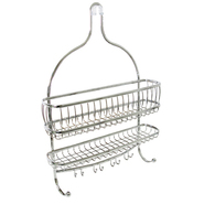 InterDesign USA York Lyra Jumbo Shower Caddy Chrome at Kmart.com