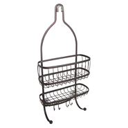 InterDesign USA York Lyra Shower Caddy Bronze at Kmart.com