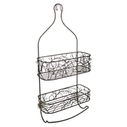 InterDesign USA Twigz Shower Caddy Bronze at Kmart.com