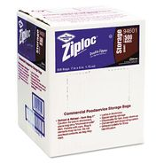 Ziploc Double Zipper Plastic Bags, 1 qt, 500/Ctn at Kmart.com