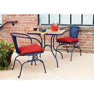 Essential Garden Felix Retro Bistro 2pk Chairs - Blue at Kmart.com