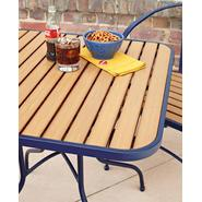 Essential Garden Felix Retro Bistro Table - Blue at Kmart.com