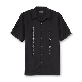 David Taylor Collection Men's Woven Shirt - Embroidered at Kmart.com