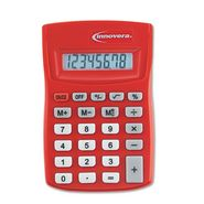 Innovera Pocket-Sized 8 Digit Calculator, Red at Kmart.com
