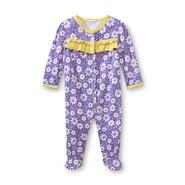 Small Wonders Newborn Girl's Ruffle Bodysuit - Floral at Kmart.com
