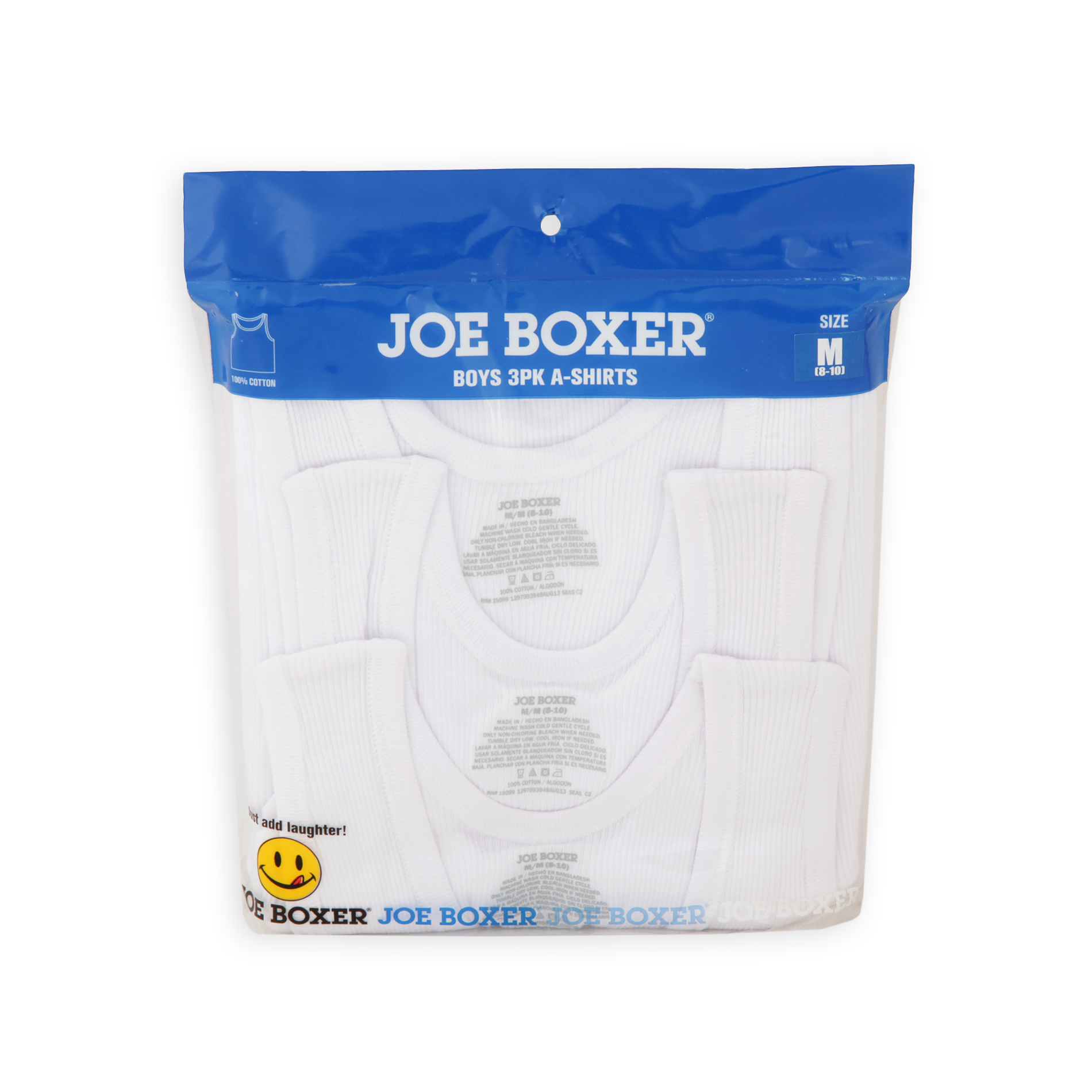 Joe Boxer  Boy's 4-20 3-Pack Cotton