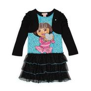 Nickelodeon Girl's Mock Shrug Dress - Dora the Explorer at Sears.com