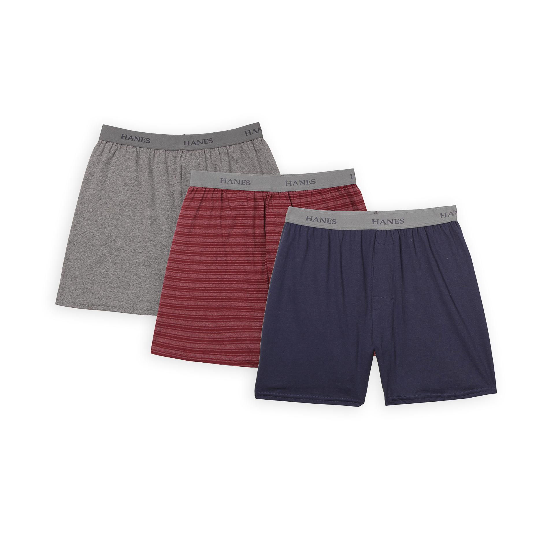 Hanes Boy's Boxer Shorts - 3 Pack