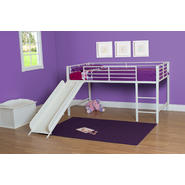DHP Fantasy Loft Bed W White Slide at Kmart.com