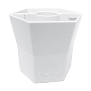 Blue Star BRELLA VASE® - 5 Inch - Opaque - Cottage White - Patio Umbrella Vase at Kmart.com