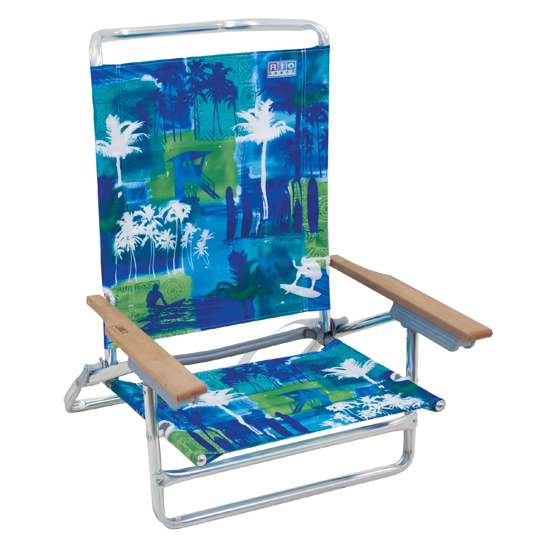 Rio 5-Position High Back Deluxe Beach Chair
