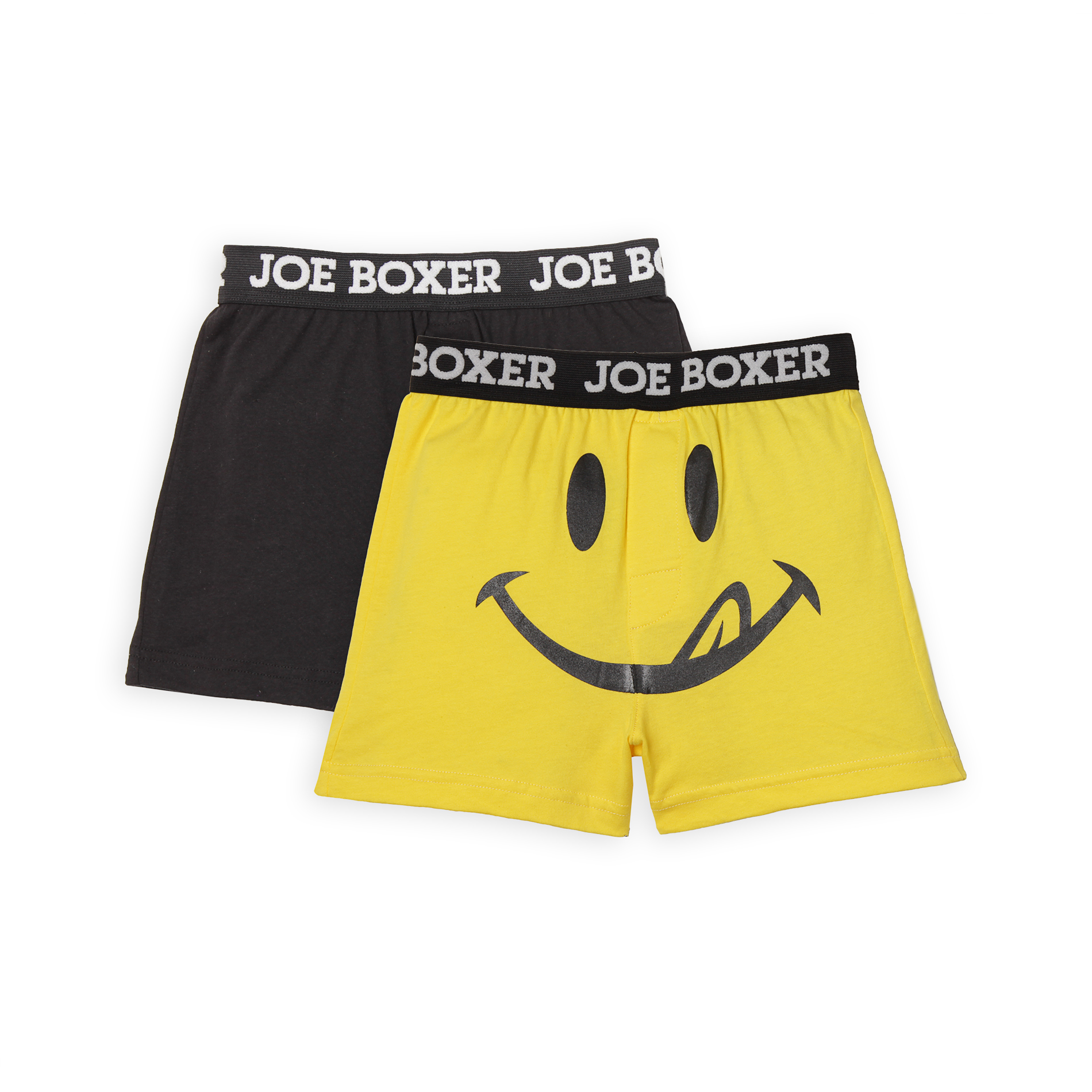 Joe Boxer Boy's 2-Pack Boxer Shorts - Solid/Licky