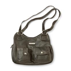 Jaclyn Smith Women's Alexandra 4-Poster Faux Leather Handbag at Kmart.com