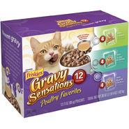Friskies Gravy Sensations Poultry Favorites 3 Flavor Variety Pack 12-3 oz. Pouches at Kmart.com