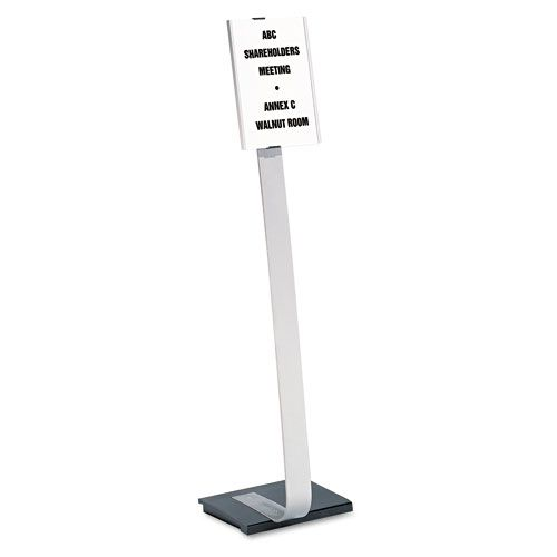 Durable Info Sign Duo Floor Stand