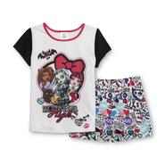 Monster High Girl's Pajama Top & Shorts at Kmart.com