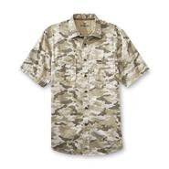 Outdoor Life Men's Big & Tall Short-Sleeve Twill Shirt - Camouflage at Sears.com