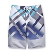 Joe Boxer Men's Swim Trunks - Crisscross Lines at Sears.com