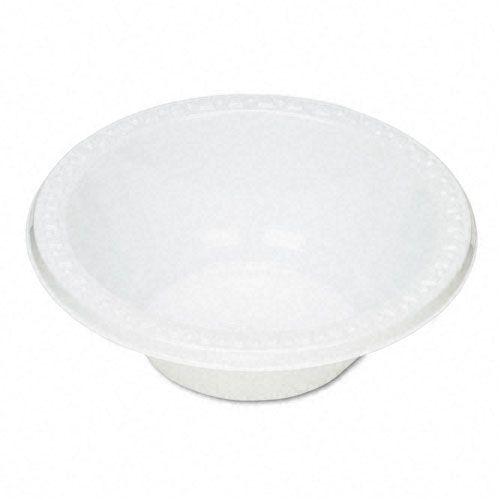 Tablemate Plastic Dinnerware, Bowls, 12 Oz, White, 125/PK PartNumber: 05029121000P KsnValue: 43827201 MfgPartNumber: TBL12244WH