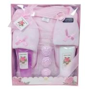 Brompton & Langley Women's Plush Robe & Slippers Gift Set - Rose at Sears.com