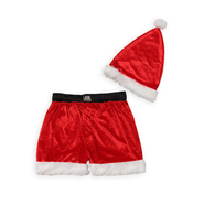 Joe Boxer Men's Plush Santa Hat & Boxers at Sears.com