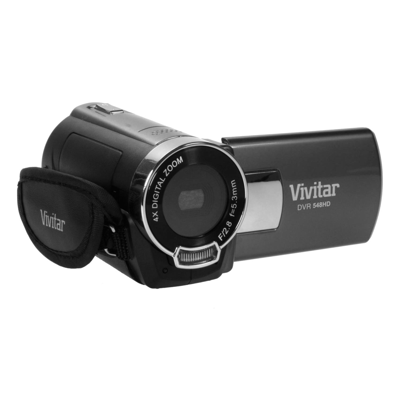 Vivitar DVR548 LIC SOLr 8 MP HD Digital Camcorder 2. Screen Black