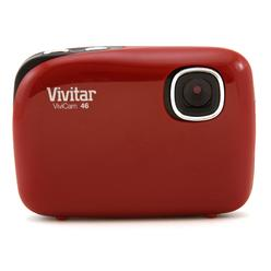 Vivitar Red ViviCam V46 Digital Camera with 4.1 Megapixels at Kmart.com