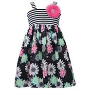 Ashley Ann Girl's Sleeveless Dress - Striped & Floral at Sears.com