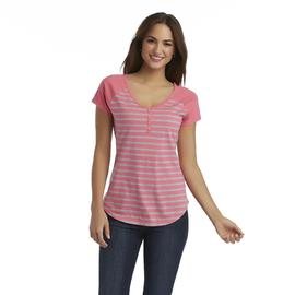 Joe by Joe Boxer Women's V-Neck Top - Striped at Sears.com