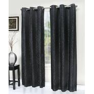 Essential Home Black Libby Grommet Panel LIB84BLK at Kmart.com