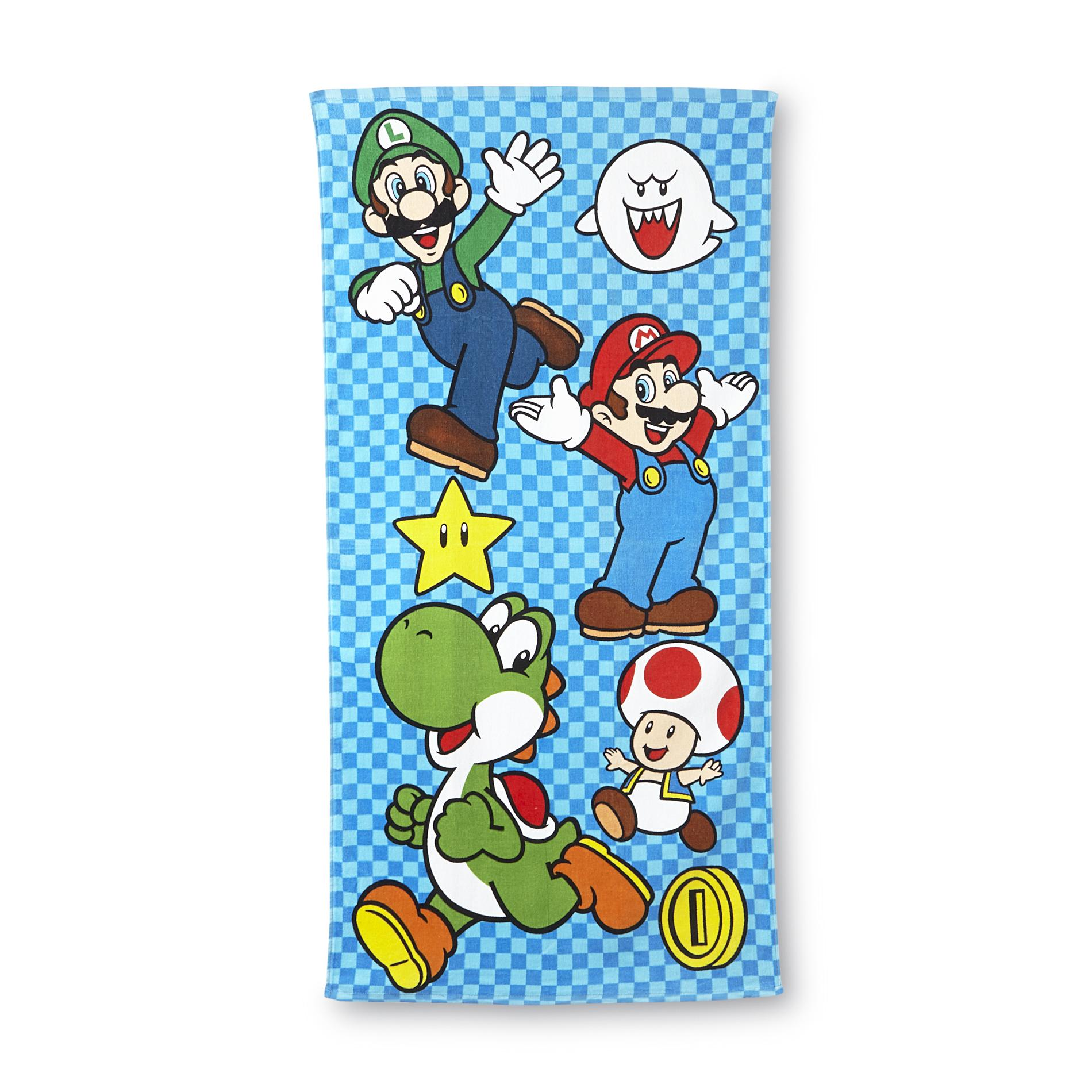 Super Mario Brothers Beach Towel
