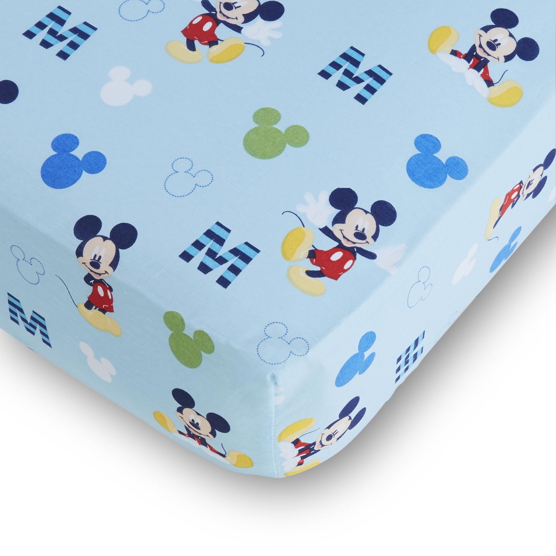 4bf94d4591 Disney Mickey Mouse Fitted Crib Sheet