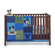 Disney Baby Infant Boy's 4-Piece Mickey Mouse Crib Bedding Set at Kmart.com