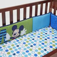 Disney Baby Secure-Me Crib Bumper Pads - Mickey Mouse at Kmart.com