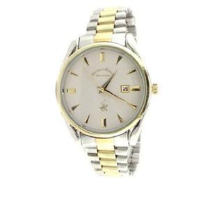 Beverly Hills Polo Club Men's Two-Tone Bracelet Watch.