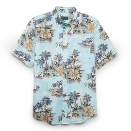 David Taylor Collection Men's Short-Sleeve Button-Front Shirt - Tropical Island at Kmart.com
