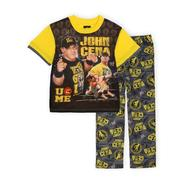 WWE Boy's Short-Sleeve Pajama Shirt & Pants - John Cena at Kmart.com