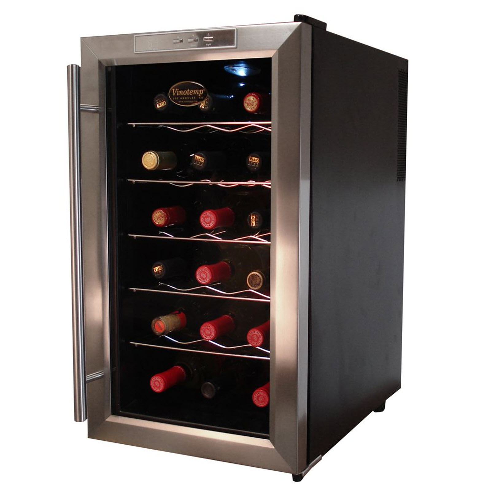 Vinotemp 18 Bottle Thermo-Electric Wine Cooler