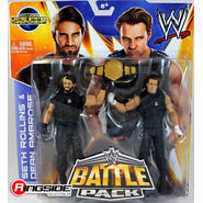 WWE Seth Rollins & Dean Ambrose - WWE Battle Packs 26 Toy Wrestling Action Figures at Sears.com