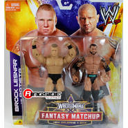 WWE Batista & Brock Lesnar - WWE WrestleMania 30 Fantasy Matchup Battle Packs Toy Wrestling Action Figures at Sears.com