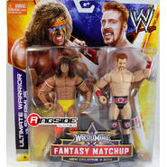 WWE Ultimate Warrior & Sheamus - WWE WrestleMania 30 Fantasy Matchup Battle Packs Toy Wrestling Action Figures at Kmart.com
