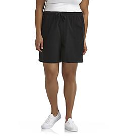 Basic Editions Women's Plus Casual Shorts at Kmart.com