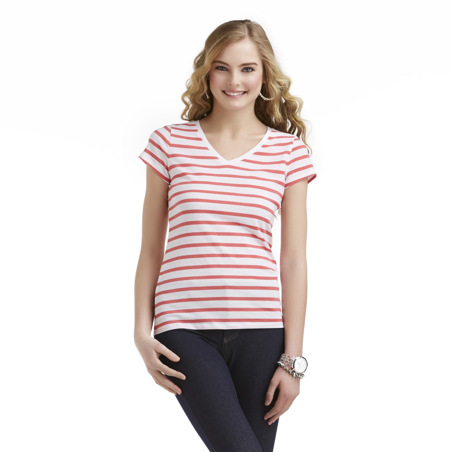 Bongo Junior's V-Neck T-Shirt - Striped at Sears.com